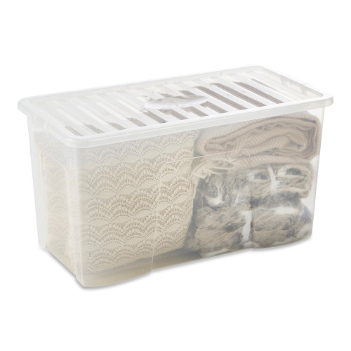 110L Clear Storage Box
