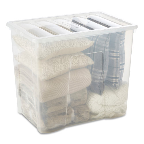 160L Clear Storage Box