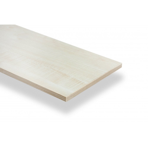 Maple Wooden Shelf Board - D300mm - 19mm Thick