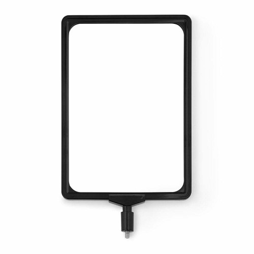 A4 Portrait Display Frame for All-Way Retractable Barrier Posts