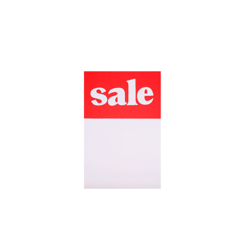 Pack of 100 Sale Tickets - 3 x 2 Inch