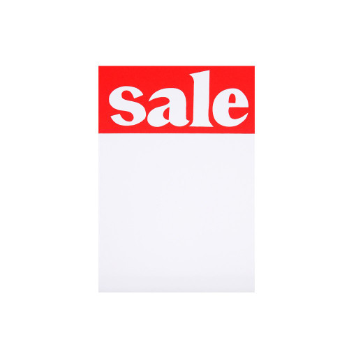 Pack of 30 Sale Tickets - 6 x 4 Inch