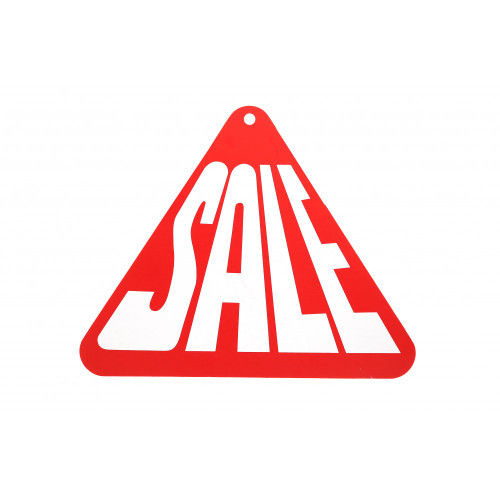 Sale Triangle Hanging Sign - 12 x 12 inch