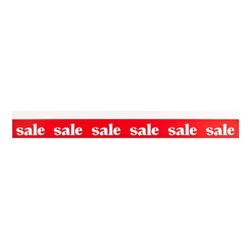 Pack of 6 Sale Shelf Strips - 3.25 x 27 inch