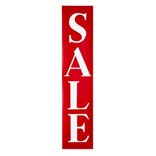Vertical Sale Banner - 62 x 14 inch