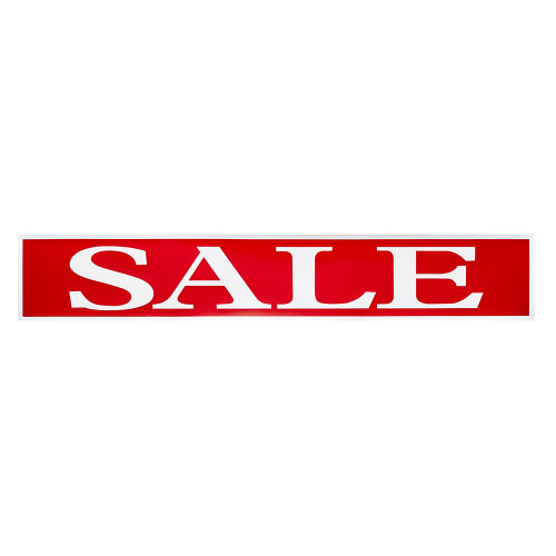 Horizontal Sale Banner - 10.5 x 62 inch