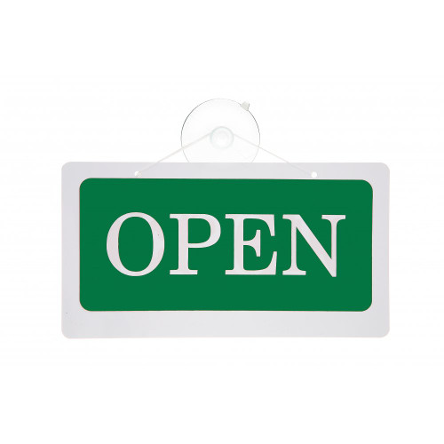Open/Closed Reversible Hanging Door Sign