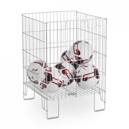 Zinc Dump Bin With Adjustable Base - 22 x 22 inch
