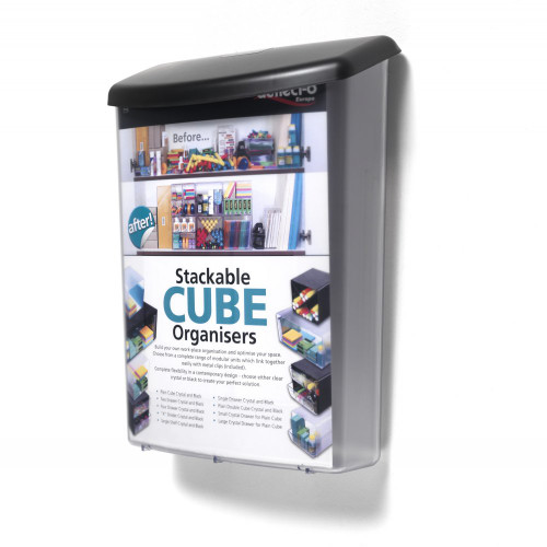 Outdoor Brochure Dispenser With Lid - A4