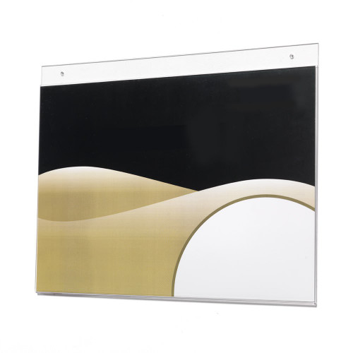 Wall Mounted Poster Holder - A4, Landscape