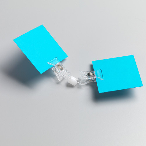 Pack of 10 Double Sign Clip with Clamp