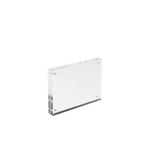 Magnetic Acrylic Block Sign Holder - A6