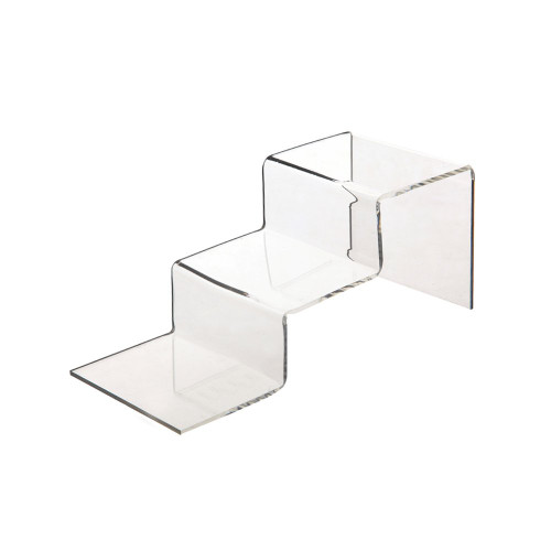 2-Step Clear Acrylic Display Stand