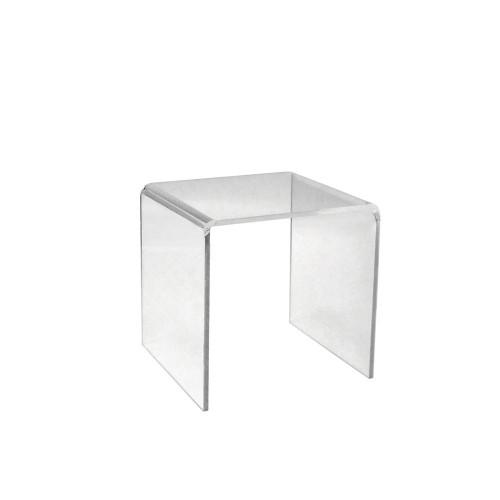 Clear Acrylic Display Bridge - H100 x W100 x D100mm