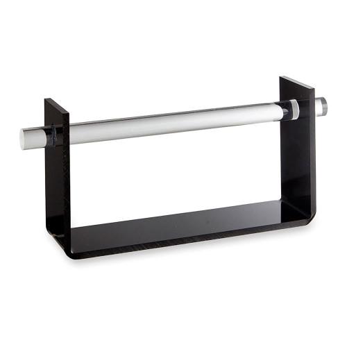 Black Acrylic 'U' Shape Hanging Bracelet & Watch Display Stand