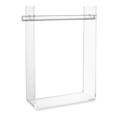 Clear Acrylic 'U' Shape Hanging Necklace Display Stand