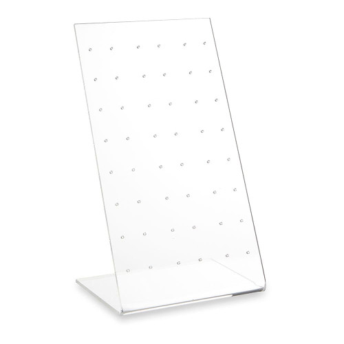 Clear Acrylic Earring Display Stand for 24 Pairs