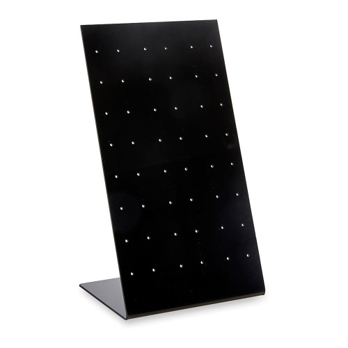 Black Acrylic Earring Display Stand for 24 Pairs