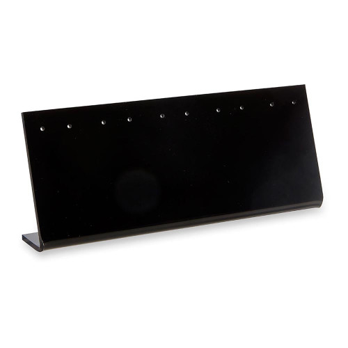 Pack of 10 Black Acrylic Earring Display Stand For 5 Pairs