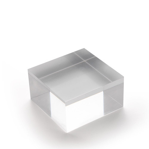Medium Acrylic Solid Display Block - H40 x W75 x D75mm