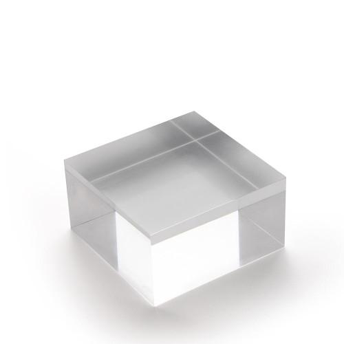 Medium Acrylic Solid Display Block - H40 x W75 x D75mm