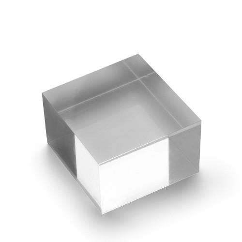 Medium Acrylic Solid Display Block - H50 x W75 x D75mm