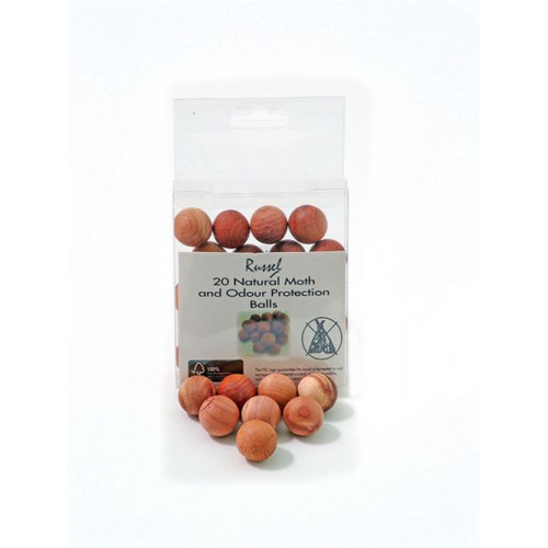 Set of 20 Cedar Balls