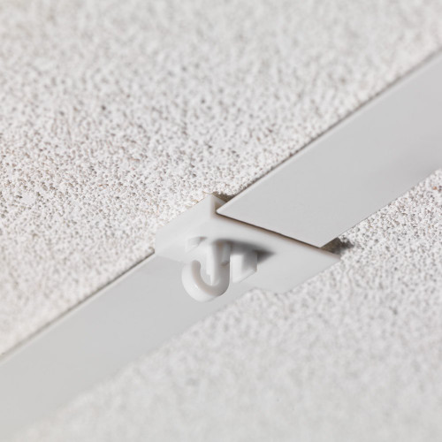 Pack of 50 White Clip-on Ceiling Hook