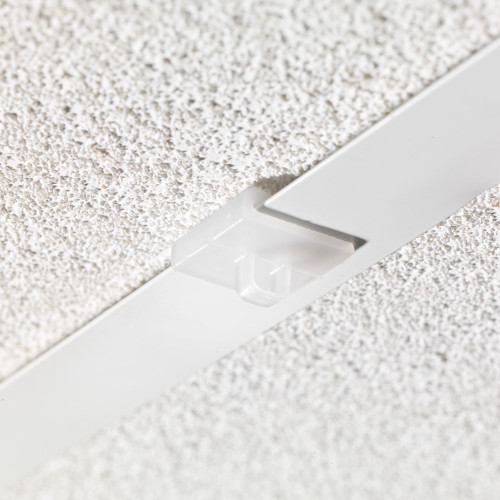 Pack of 20 Clear White Clip-on Ceiling Loop