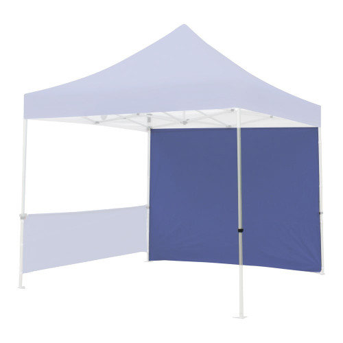 Blue Full Wall for Promotional Event Tent