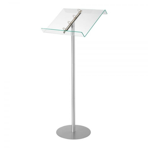 Lectern/Catalogue Browser Floor Stand with Ring Binder
