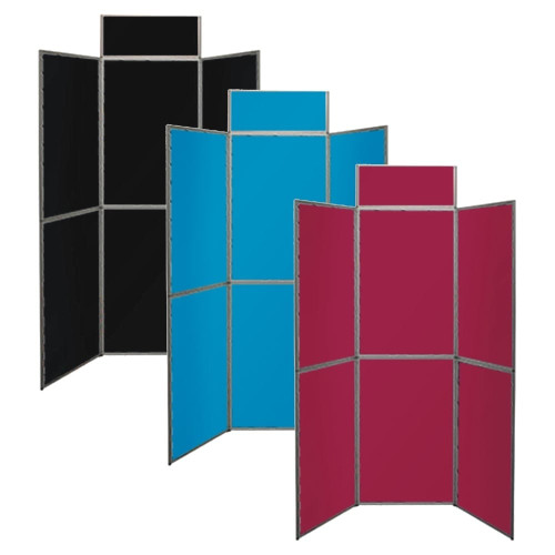 Deluxe 6-Panel Fabric-Covered Display Kit - H1500 x W2050mm