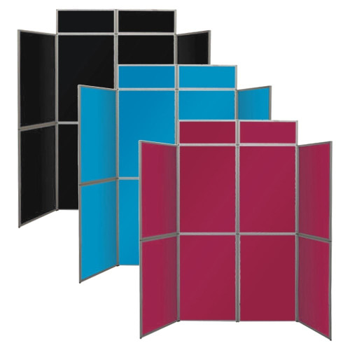 Deluxe 8-Panel Fabric-Covered Display Kit - H2050 x W2100mm