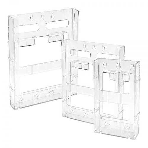 Clear Lit-Loc Literature Holder