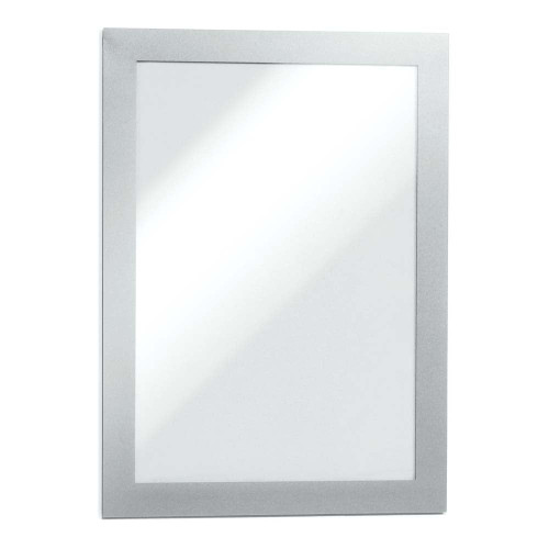 Silver Duraframe Self-Adhesive Magnetic Frame