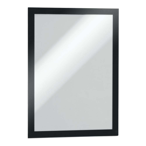 Black Duraframe Self-Adhesive Magnetic Frame
