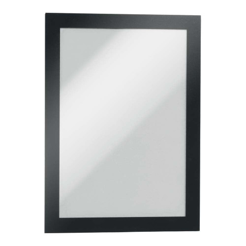 Black Duraframe Magnetic Frame for Metal Surfaces