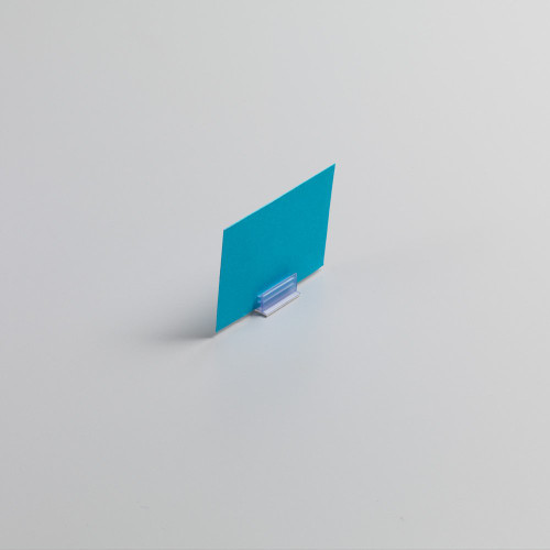Pack of 50 Card Holder with Self-adhesive Back