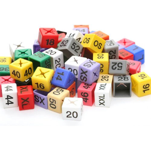 Set of Size Cubes 50 of Each Size