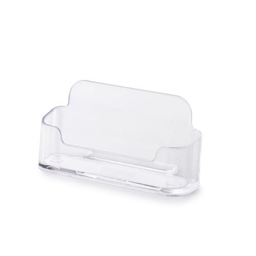 Clear Acrylic Business Card Holder -Landscape