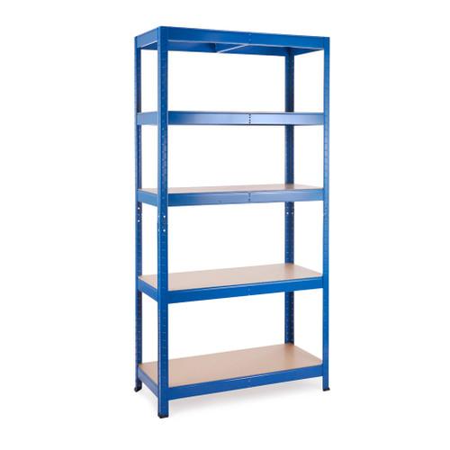 Multipurpose Commercial Shelving - Blue - Up to 250Kg UDL Per Shelf - H1800 x W900 x D400 mm