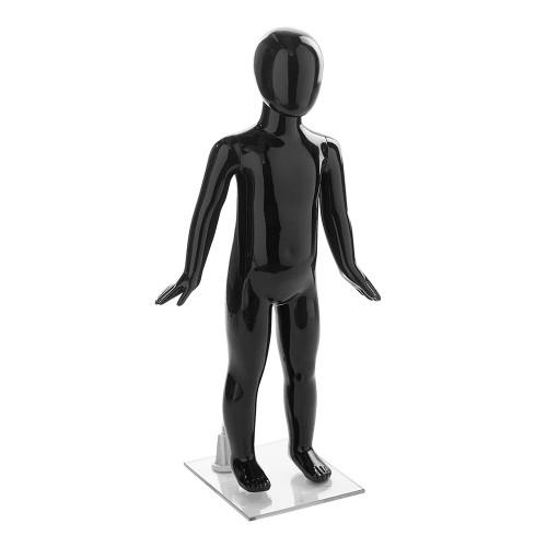 Fin Child Mannequin - Age 2 - Gloss Black