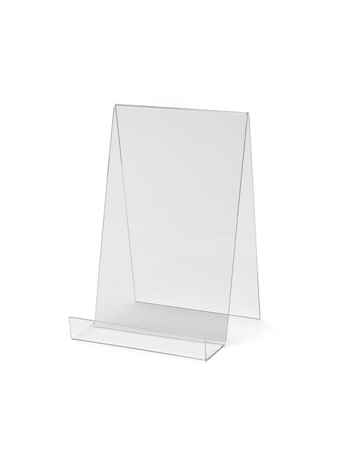 Clear Acrylic Display Stand with lip