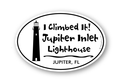 Wholesale Juniper  Lighthouse Sticker