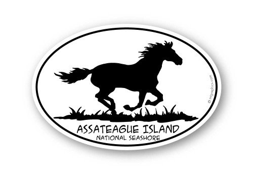 Wholesale Horse Running Sticker