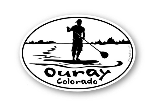 Wholesale Stand Up Paddleboard Sticker