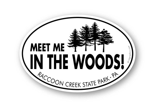 Wholesale Meet Me in the Woods Sticker