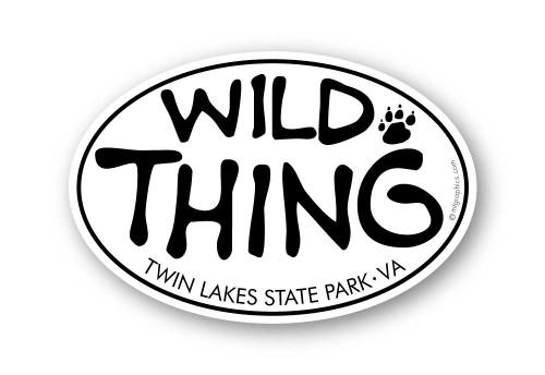Wholesale Wild Thing Sticker