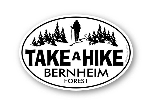 Wholesale Classic Take A Hike Oval Sticker