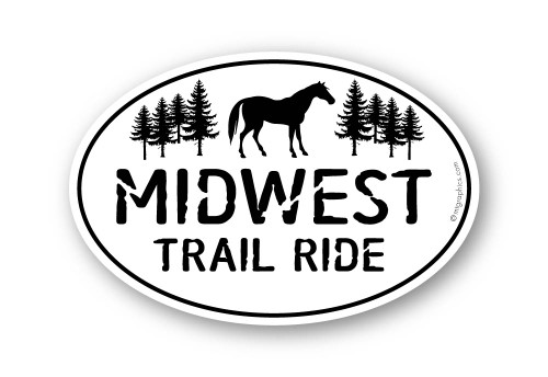Wholesale Trail Horse Sticker